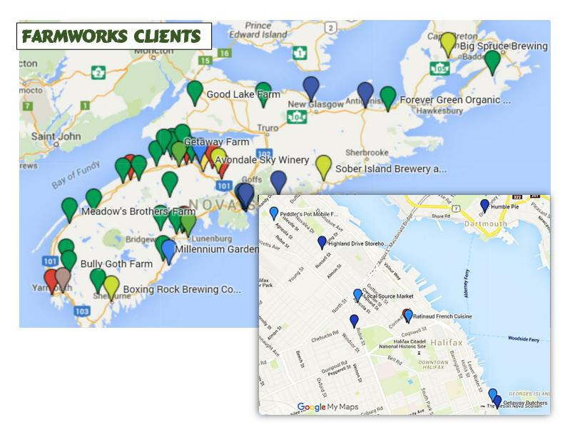 Travel the FarmWorks Flavour Trail - FarmWorks Investment Co-op