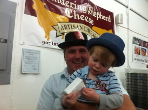 Ron Muise and Son
